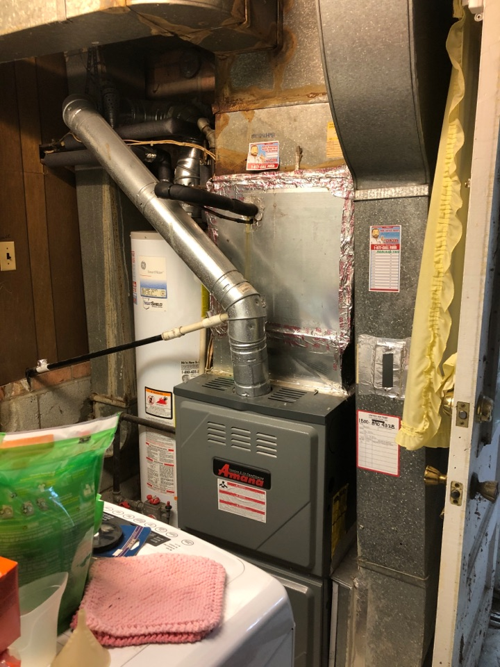 Temple Hills, MD - Replace replace 80% gas furnace AC coil 80% gas furnace AC cord