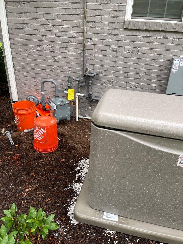 Arnold, MD - Generac standby generator installation in Arnold Maryland