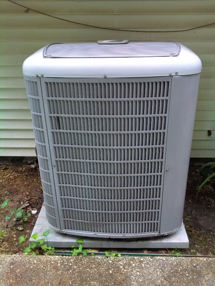 Crownsville, MD - Carrier AC air conditioning & heating system installation repair service call in Crownsville Maryland 21032