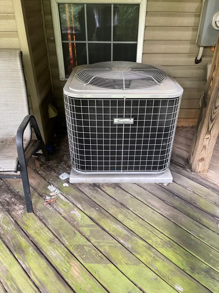 Greenbelt, MD - Air handler heat pump replacement