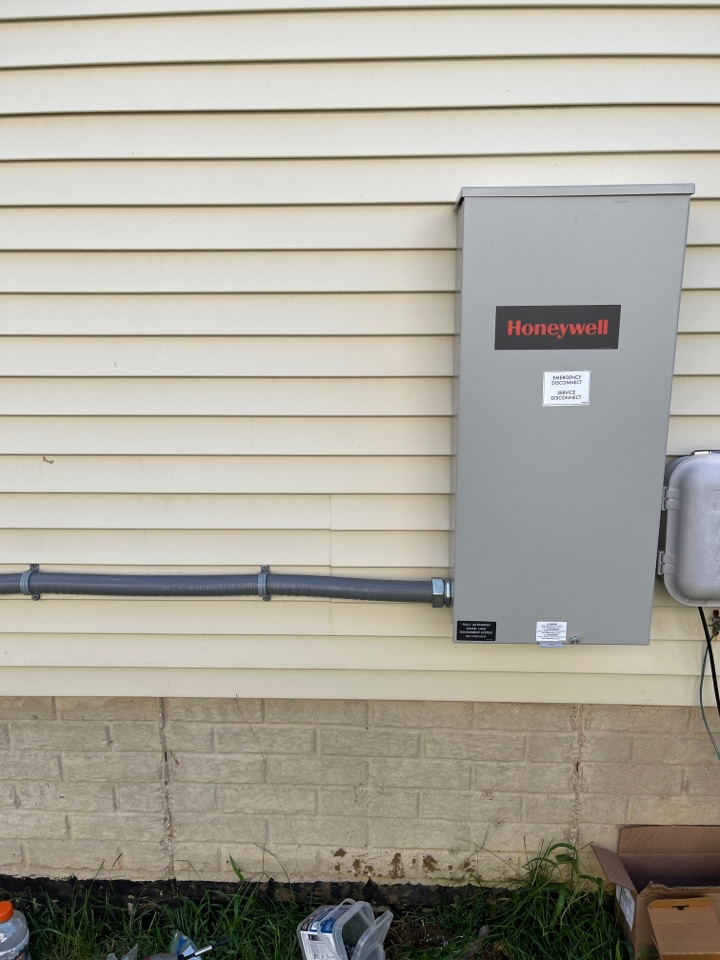 Annapolis, MD - Transfer switch for new Honeywell generator installation