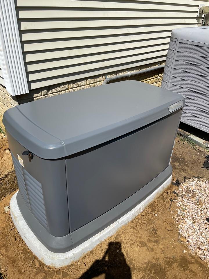 Annapolis, MD - New Honeywell generator installation