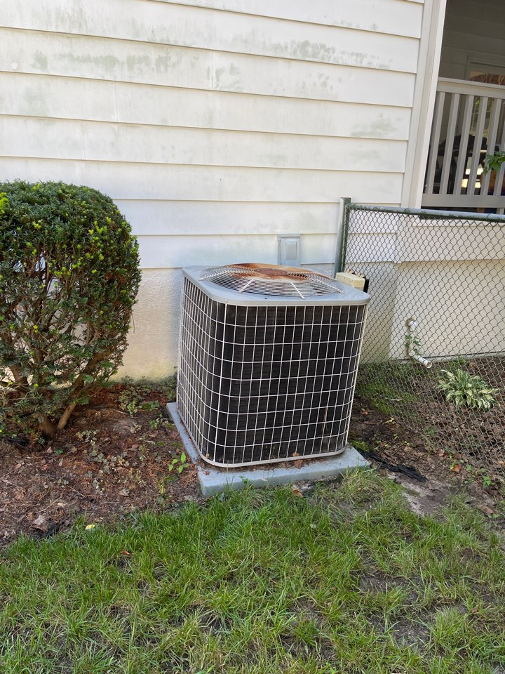 Severna Park, MD - Changing air handler with ac