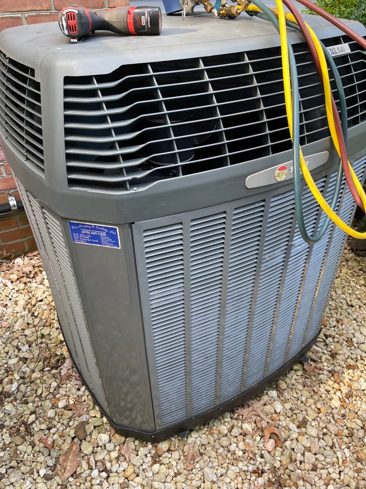 Arnold, MD - Installing a no re heat pump system