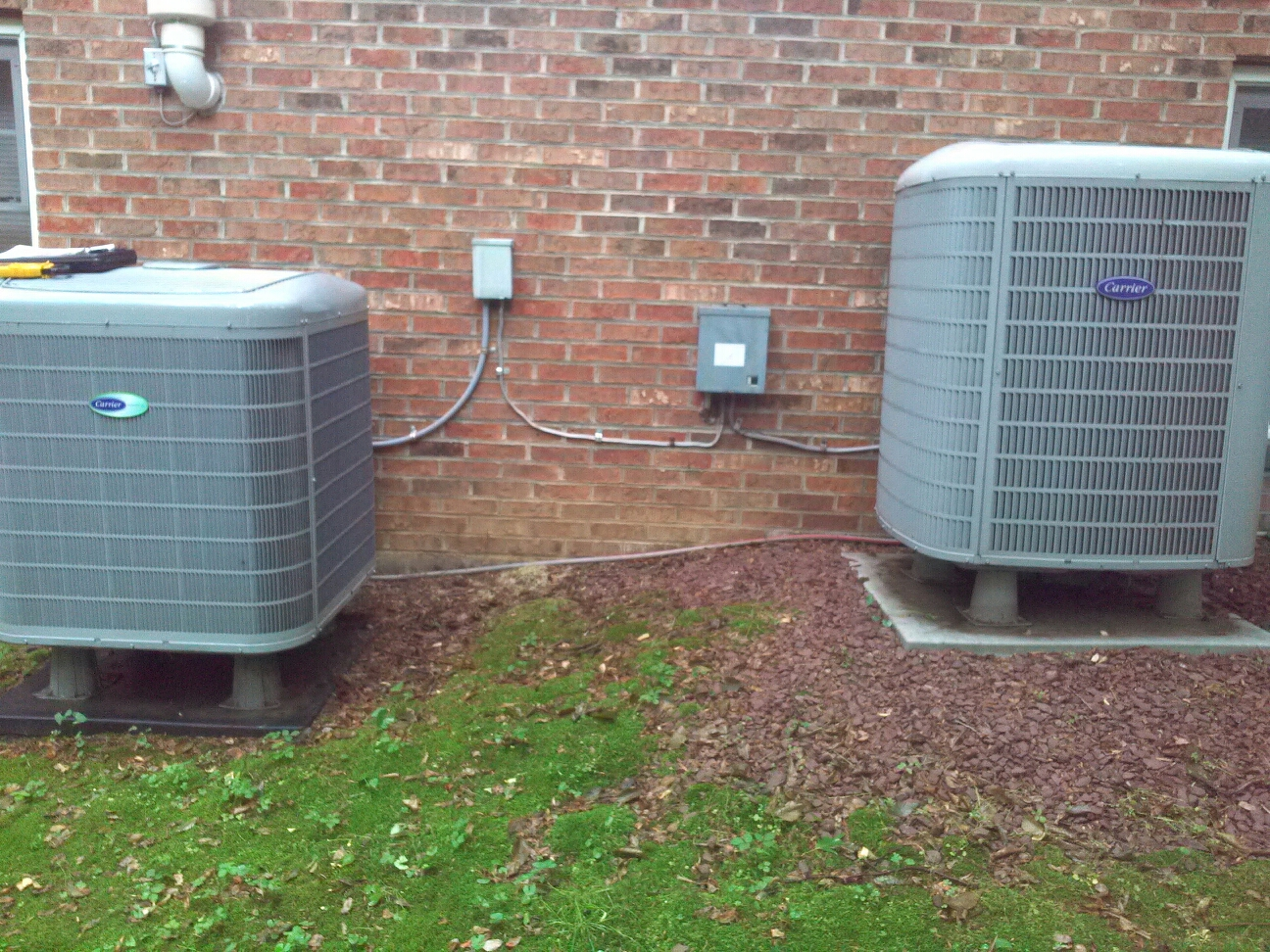 Friendship, MD - Heat pump AC repair service call in Friendship Maryland 20758