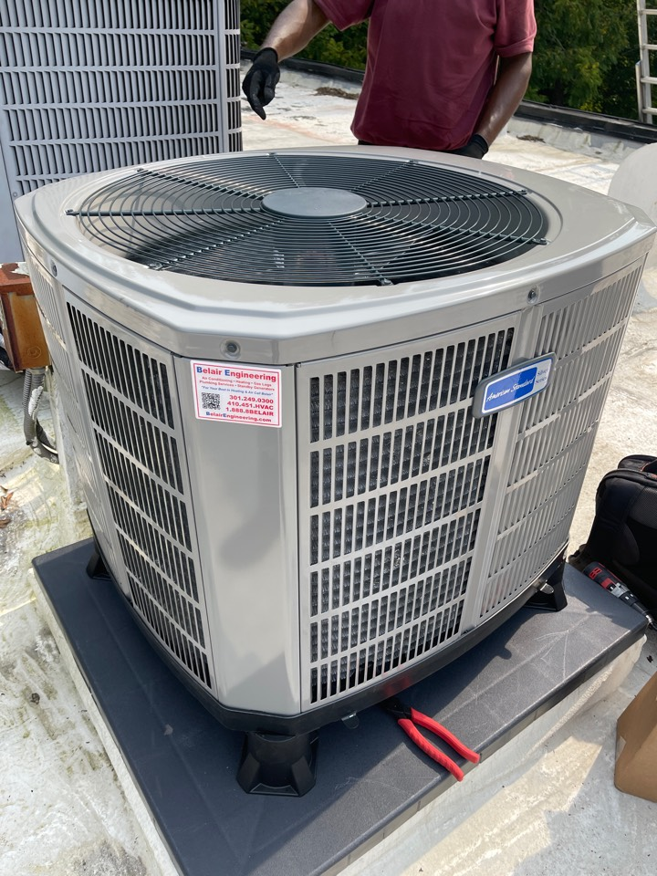 Crownsville, MD - Heat pump system replacement