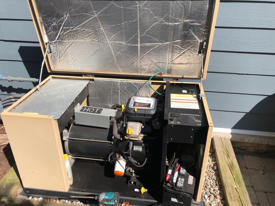 West River, MD - Generator repairs