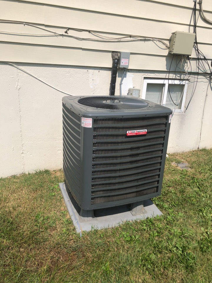 Camp Springs, MD - Goodman Heat Pump Heating maintenance repair services with Flood protection and pleated filter