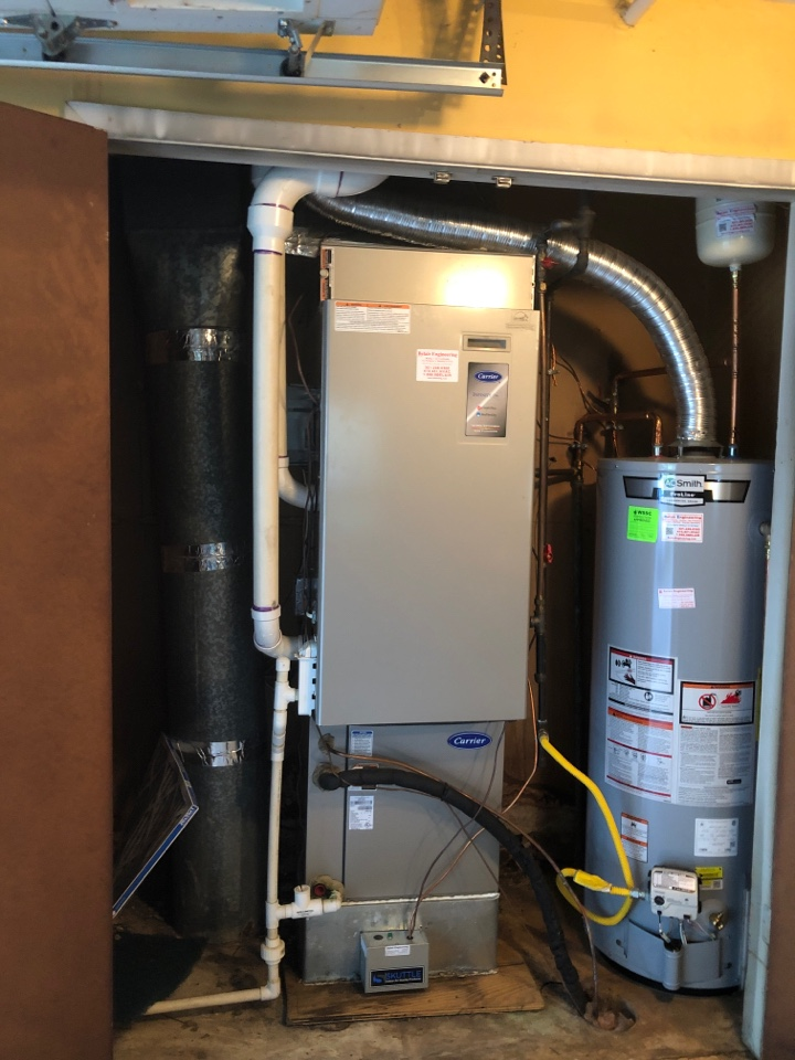 Laurel, MD - Replaced 90+ gas furnace AC coil