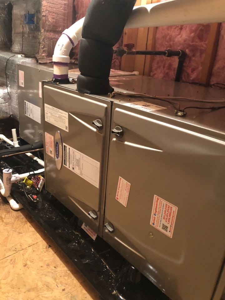 Lothian, MD - Carrier Heating maintenance repair services with Flood protection and media filter