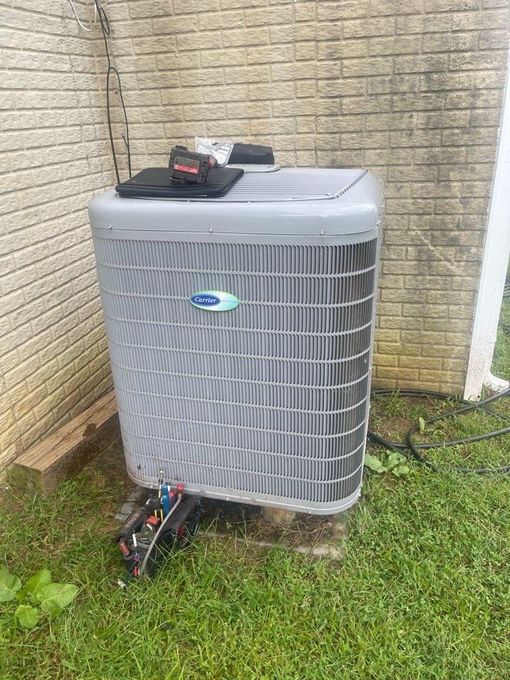 Owings, MD - Carrier air conditioning repair