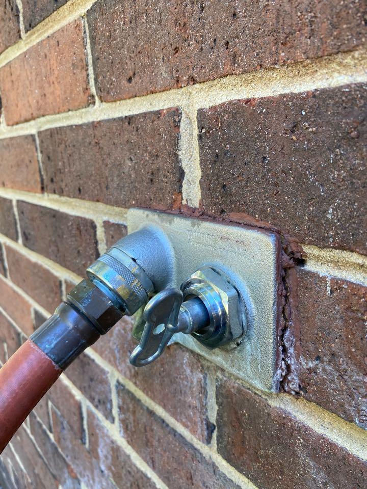 Lanham, MD - Wall hydrant repair