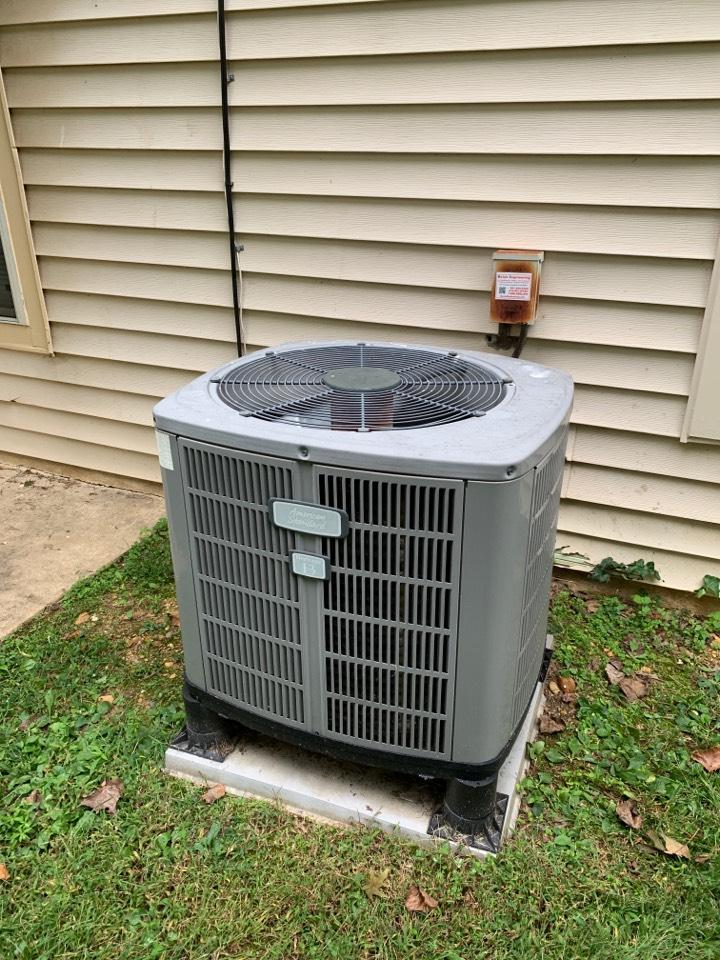 Fort Washington, MD - American Standard Heat Pump Service Repair