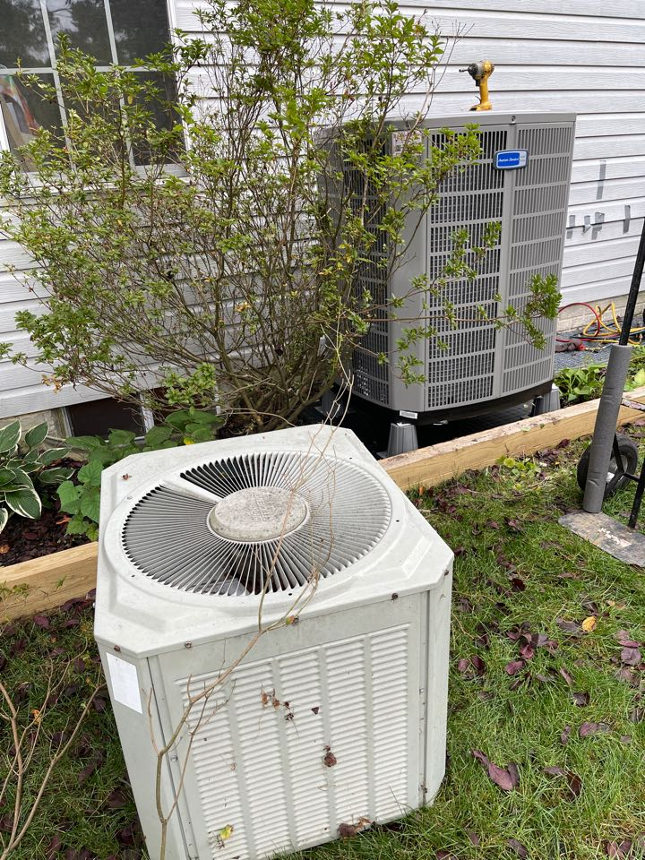 Odenton, MD - Changing ac furnace and coil