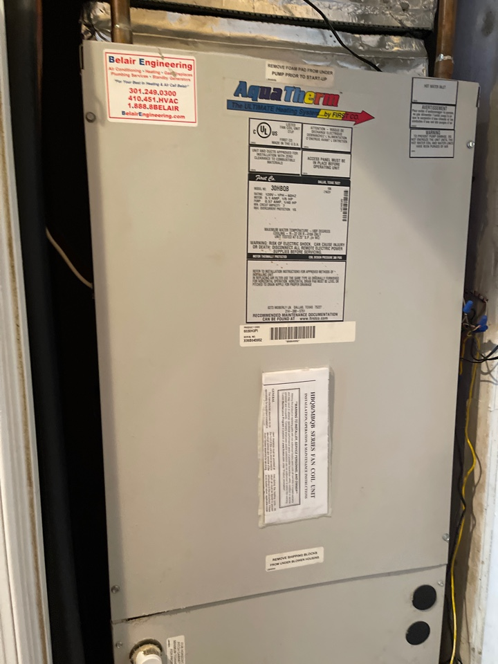 Odenton, MD - Heating tune up