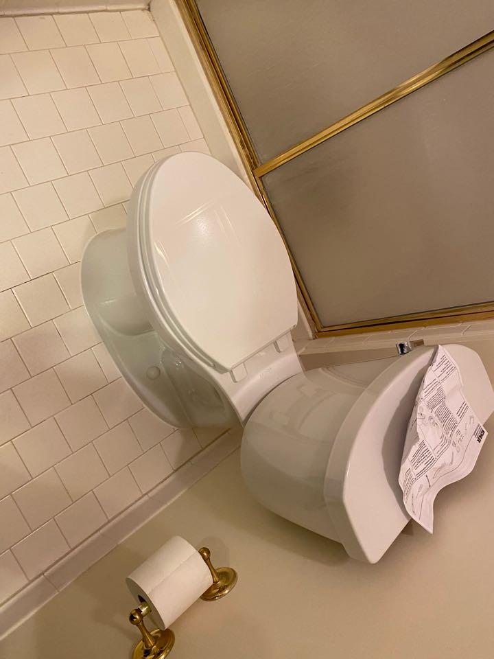 Glenn Dale, MD - Toilet repair
