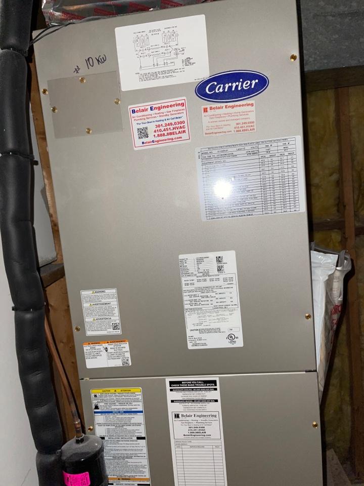 Greenbelt, MD - Heating tune up