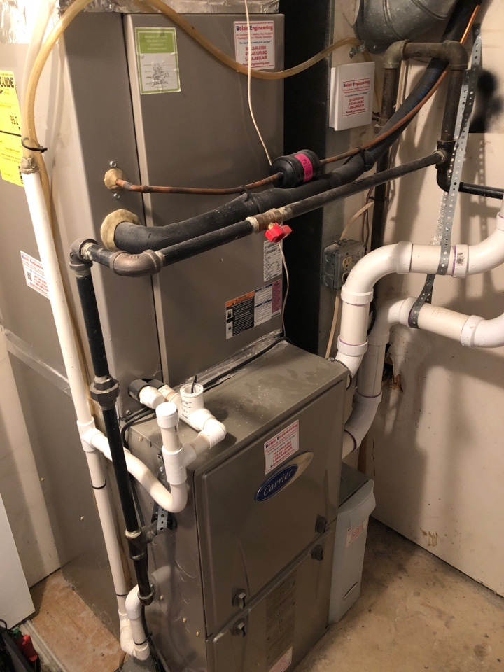 Crofton, MD - Carrier Gas Furnace repair maintenance services with Flood protection, humidifier, and media filter