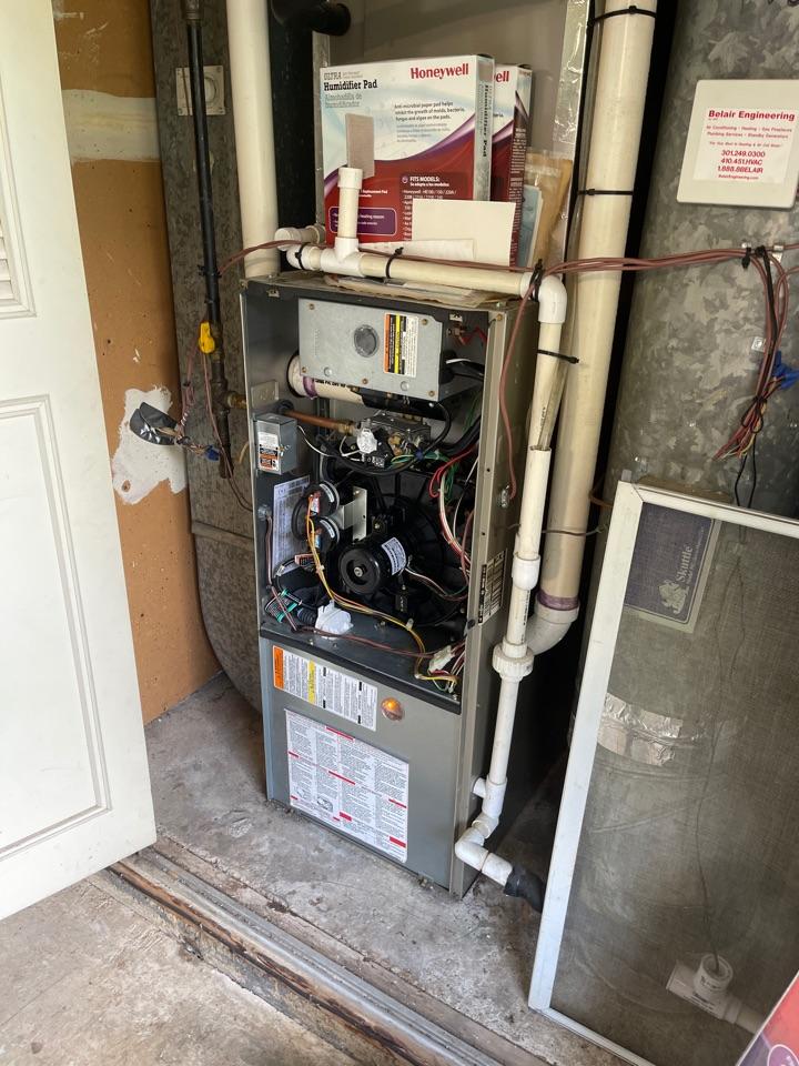 Crofton, MD - Carrier gas furnace repair