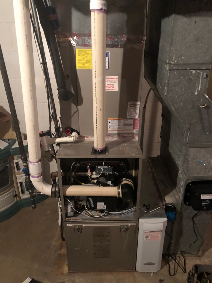 Crofton, MD - Furnace repairs replacement of the gas valve