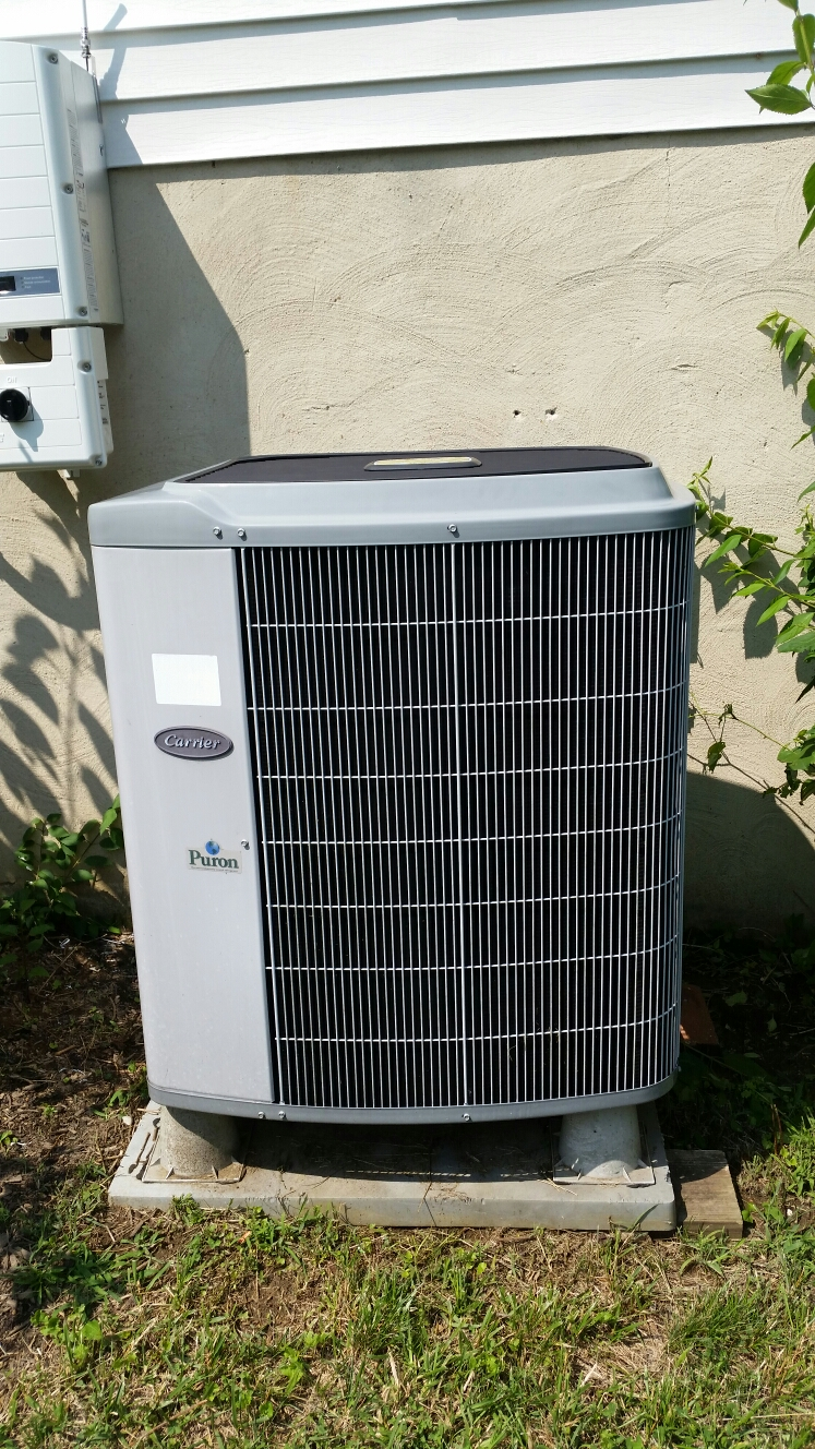 Gambrills, MD - Heat pump ac air conditioning & heating system replacement installation repair service call in Gambrills Maryland 21054