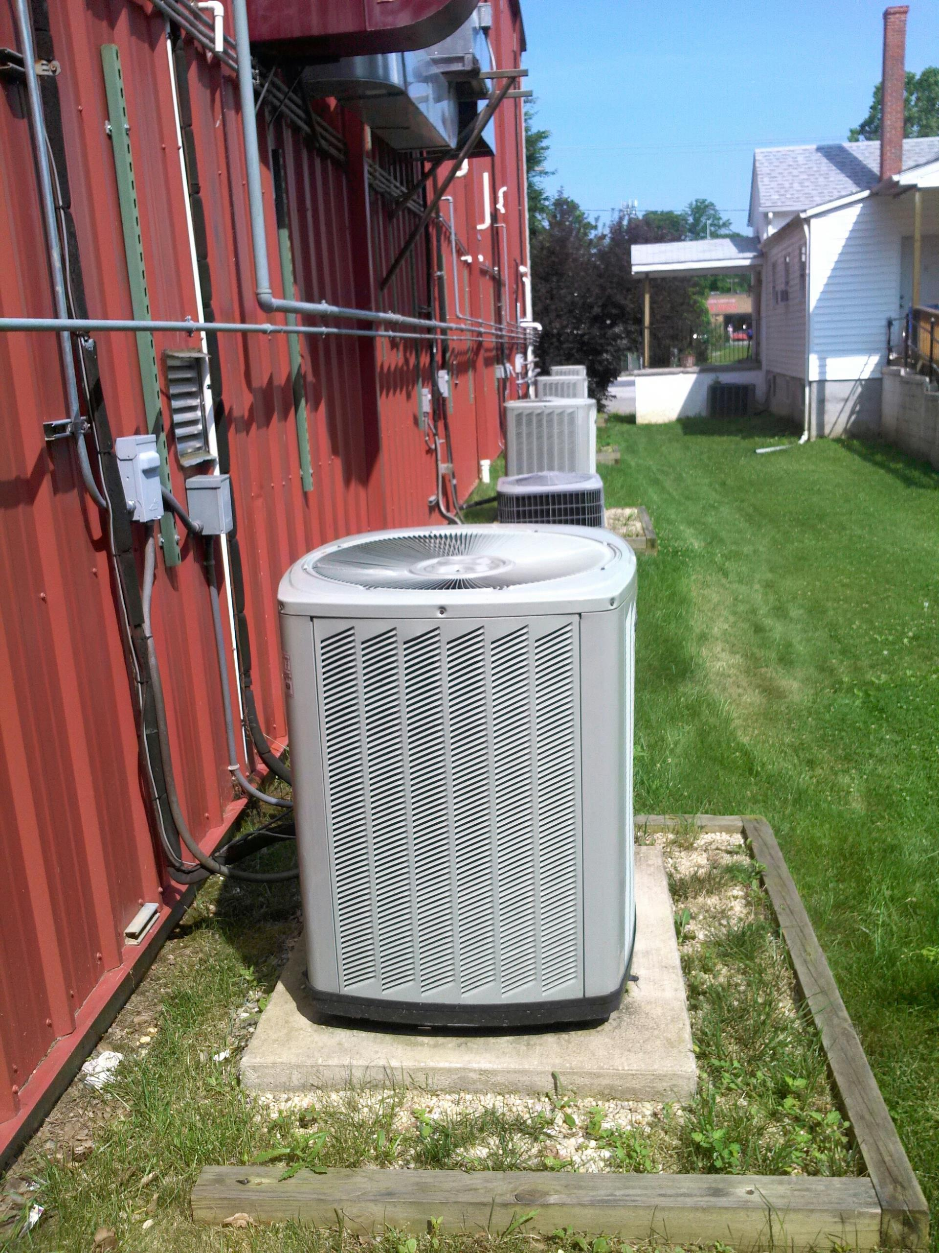 Gambrills, MD - Trane ac air conditioner repair service call in Gambrills Maryland 21054