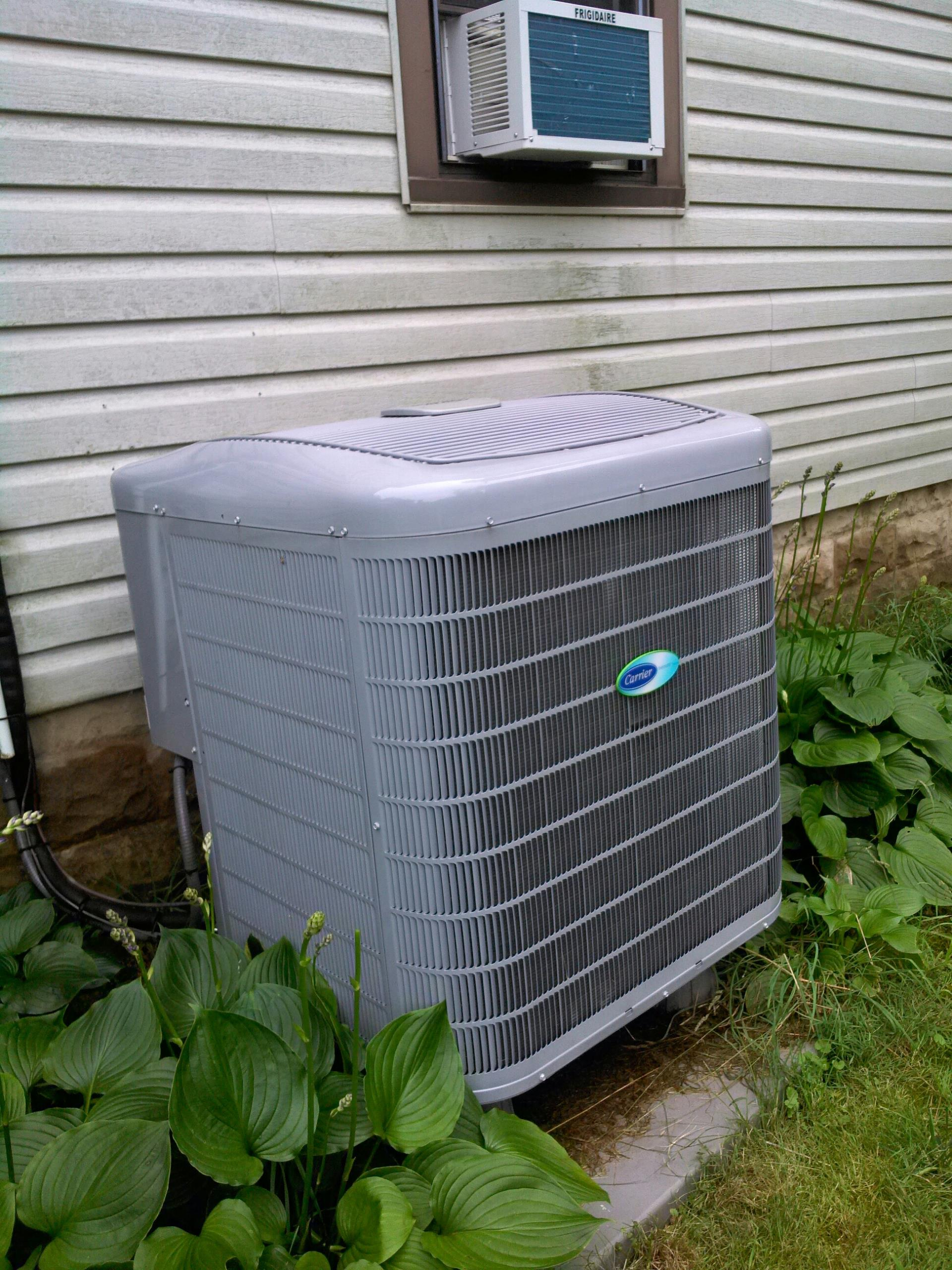 Crownsville, MD - Heat pump ac air conditioning & heating system installation repair service call