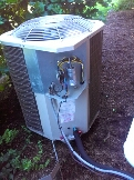 Gambrills, MD - AC air conditioning system repair service call Gambrills Maryland 21054