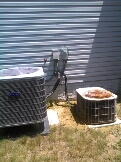 Gambrills, MD - Heat pump ac air conditioning & heating system repair service call Gambrills Maryland 21054