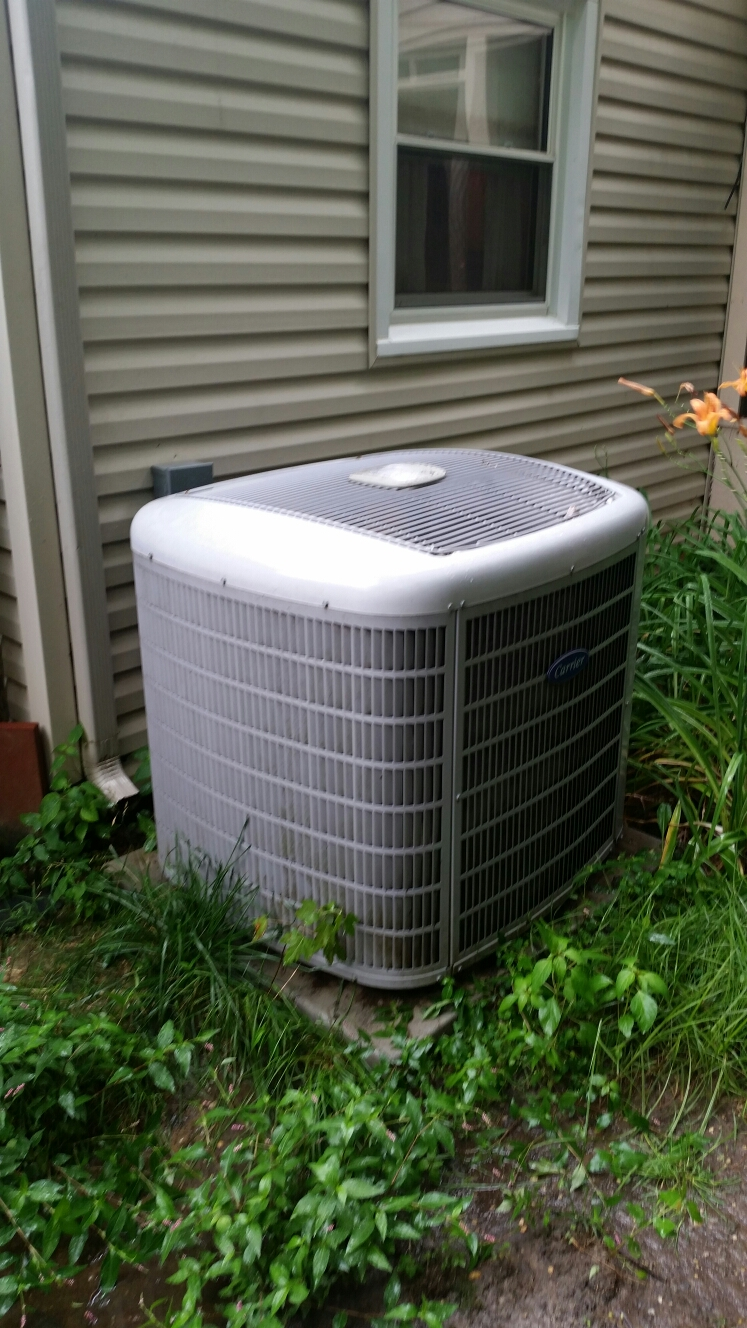 Gambrills, MD - Heat pump AC air conditioning & heating system repair service call Gambrills MD