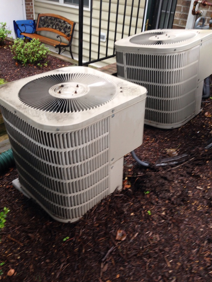 Crofton, MD - Goodman ac air conditioning & heating system replacement installation Crofton Maryland