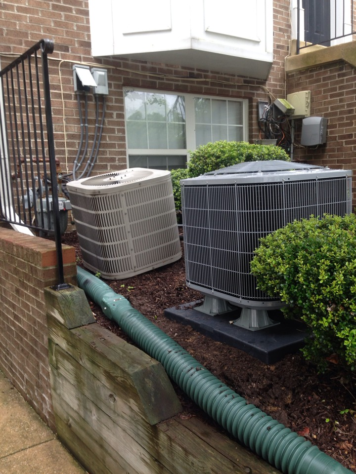 Crofton, MD - Goodman heat pump ac air conditioning & heating system replacement installation Crofton Maryland