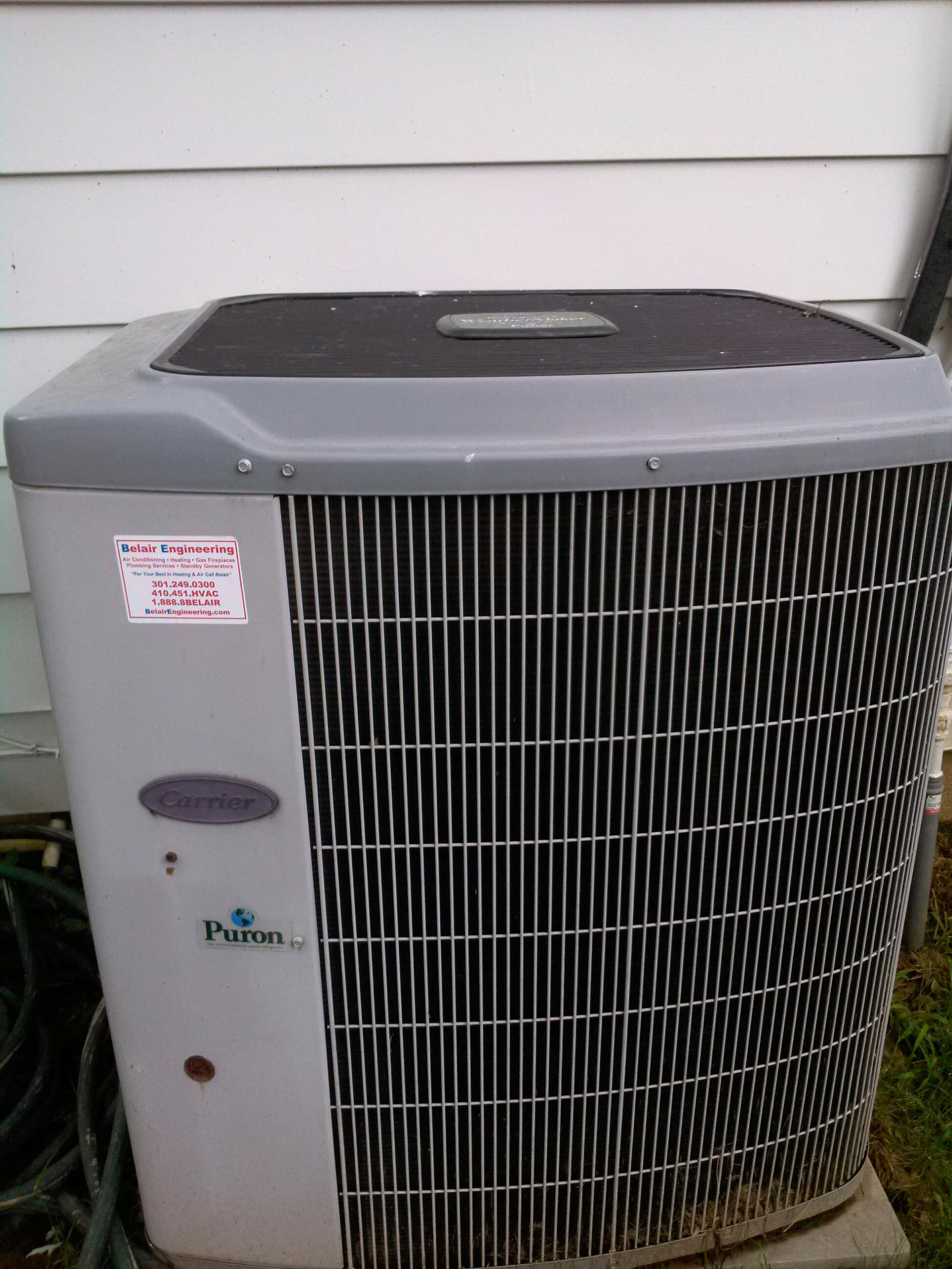Crofton, MD - AC air conditioning & heating system installation repair service call Crofton MD