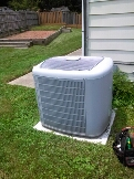Goddard, MD - Carrier ac air conditioning system installation repair service call.
