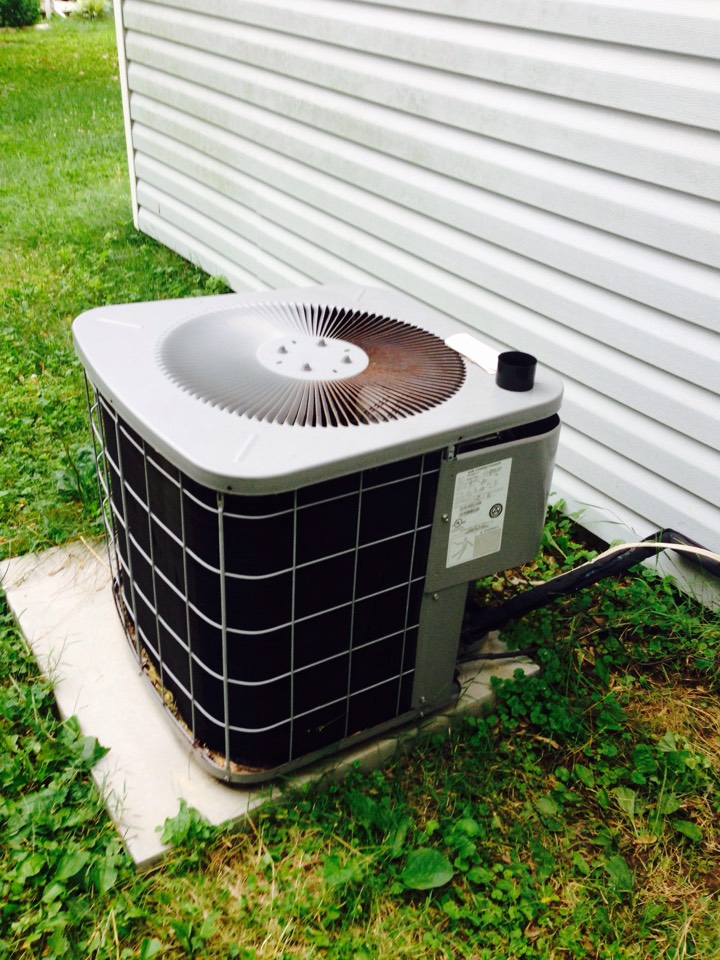 Gambrills, MD - Goodman ac air conditioning & heating system replacement installation service call Gambrills Maryland