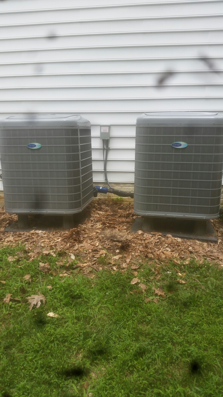 Crownsville, MD - Heat pump ac heating & air conditioning system installation repair service Crownsville Maryland