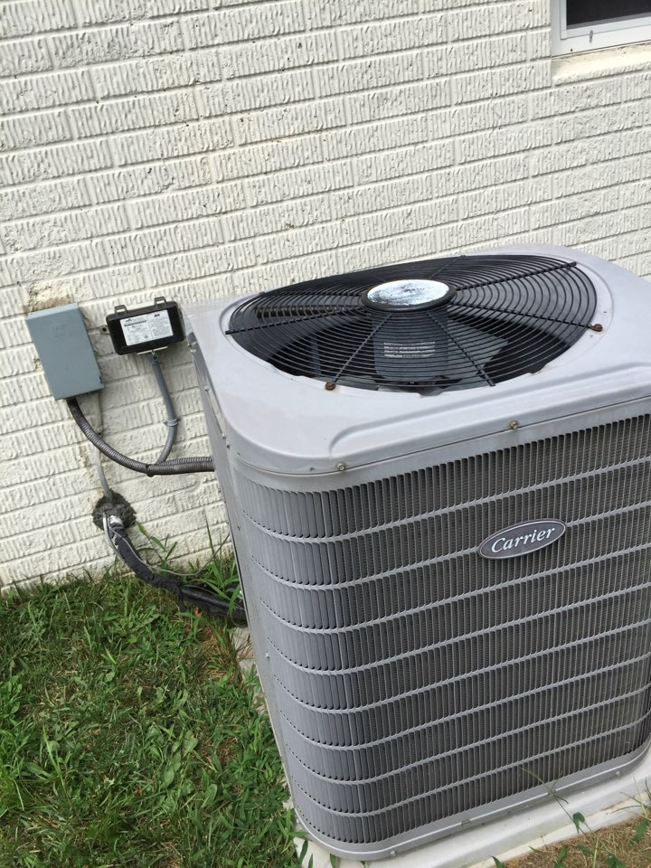 Crownsville, MD - AC air conditioning system repair service call Crownsville Maryland