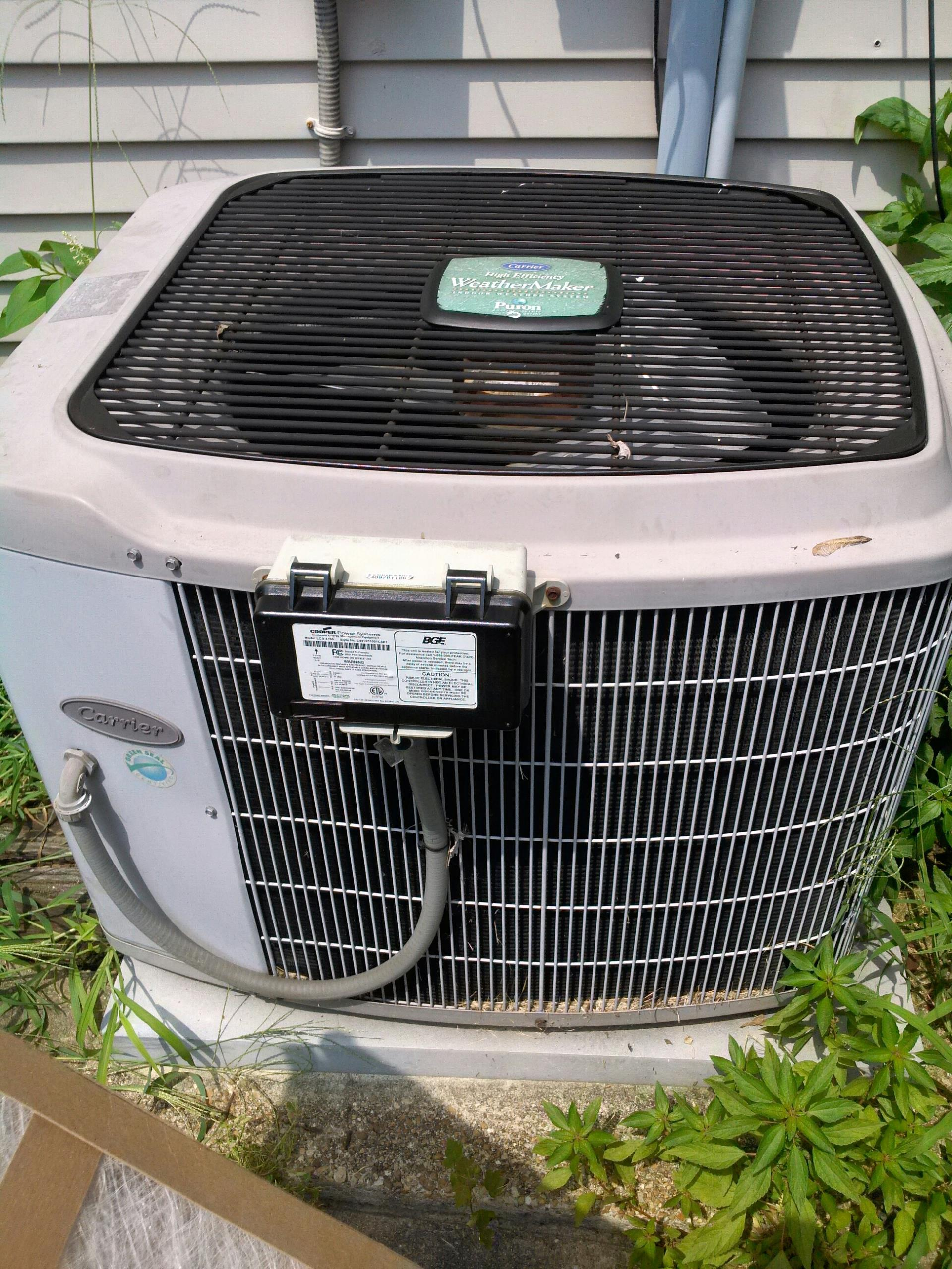 Gambrills, MD - Carrier ac air conditioning & heating system installation repair service call Gambrills Maryland 21054