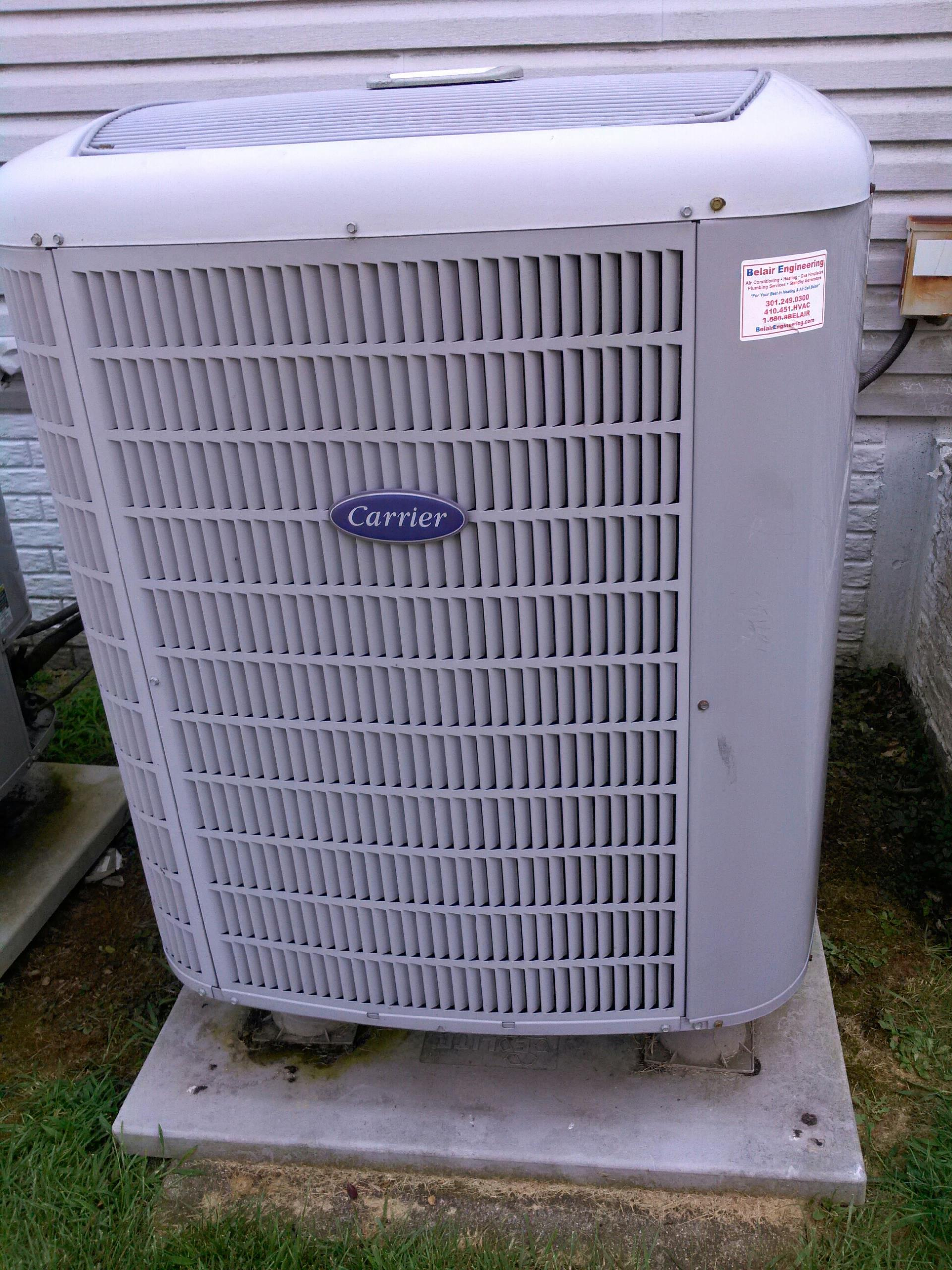Gambrills, MD - Heat pump ac heating & air conditioning system replacement installation service call Gambrills Maryland