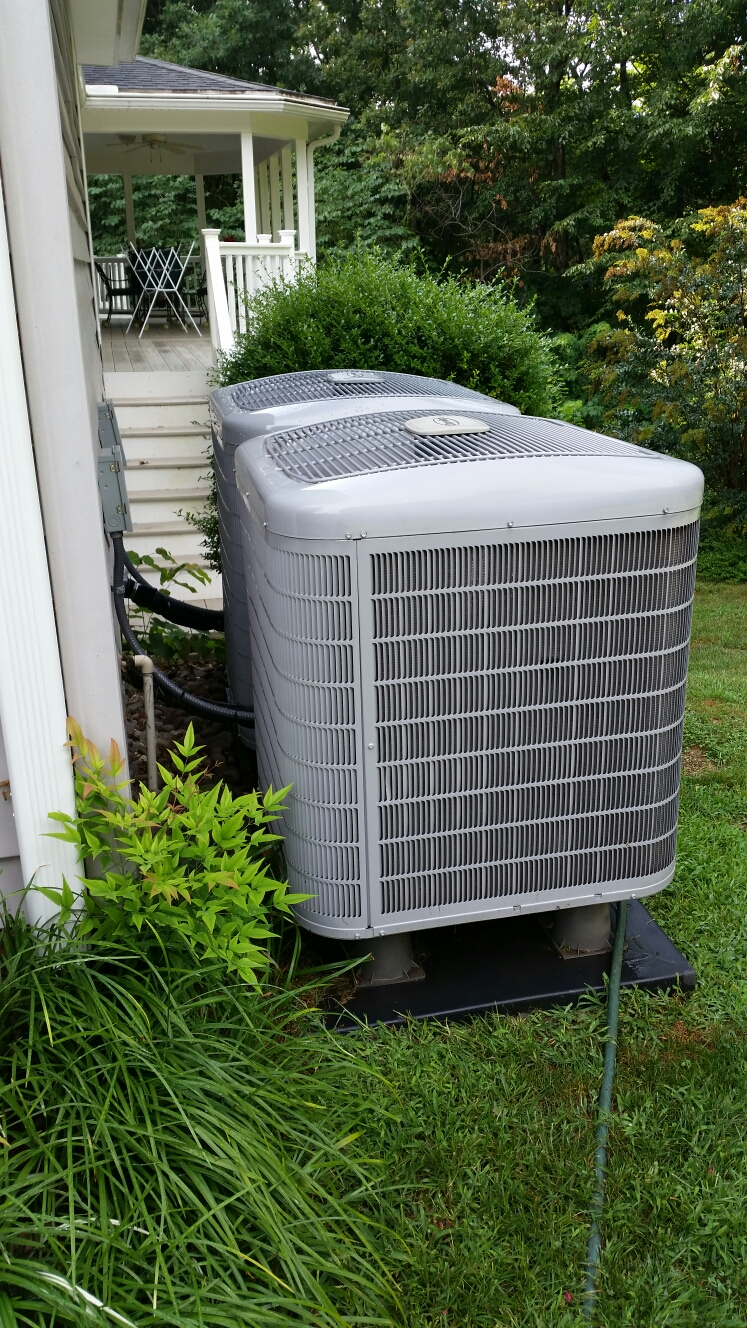 Gambrills, MD - Heat pump ac air conditioning & heating system replacement installation service call Gambrills Maryland