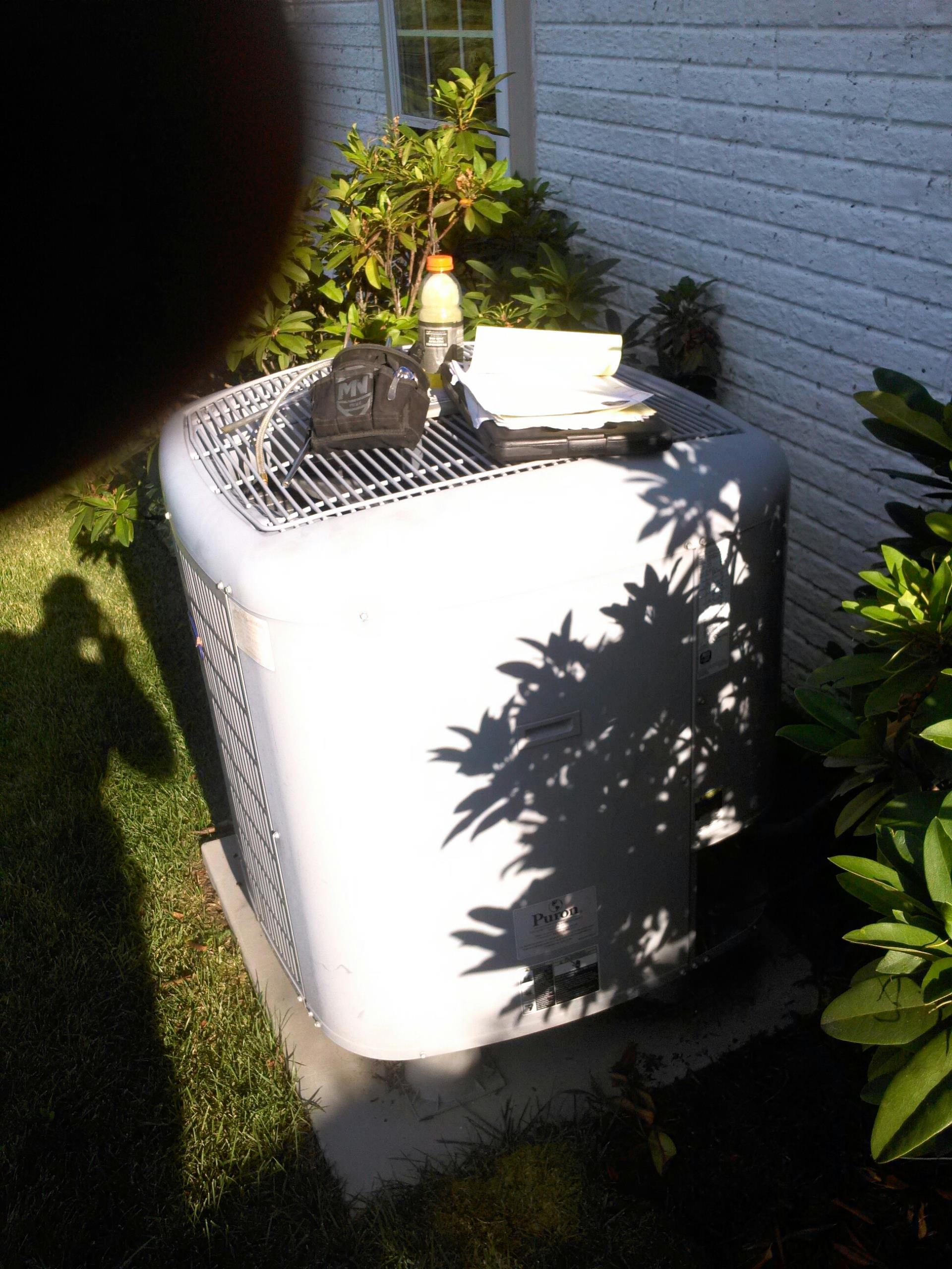 Gambrills, MD - Carrier heat pump Spring check