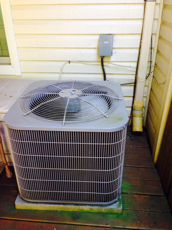 Crofton, MD - Goodman gas furnace heating & ac air conditioning system replacement installation service call Crofton Maryland 21114