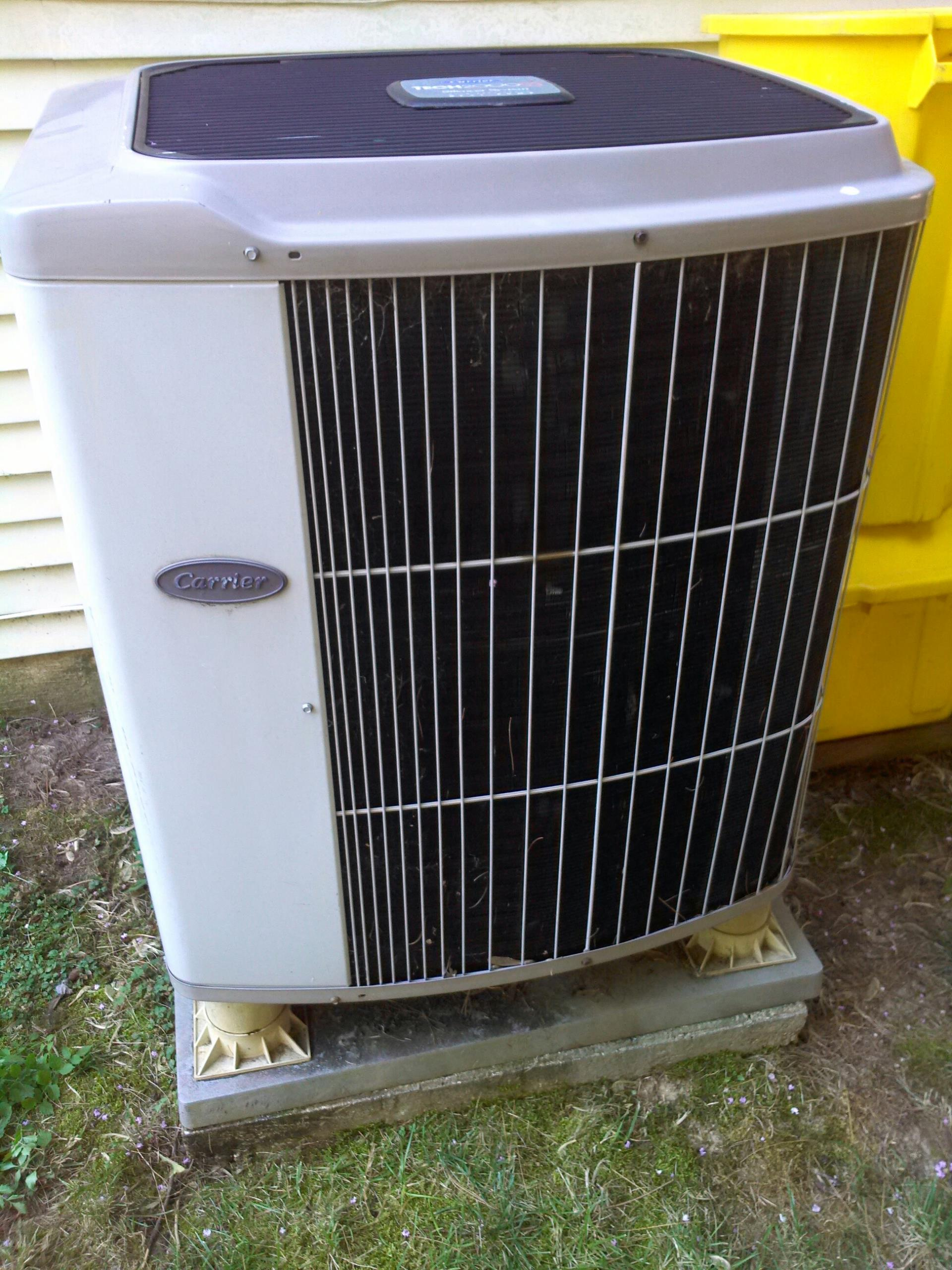 Gambrills, MD - Heat pump furnace heating & ac air conditioning system replacement installation service call Gambrills Maryland 21054