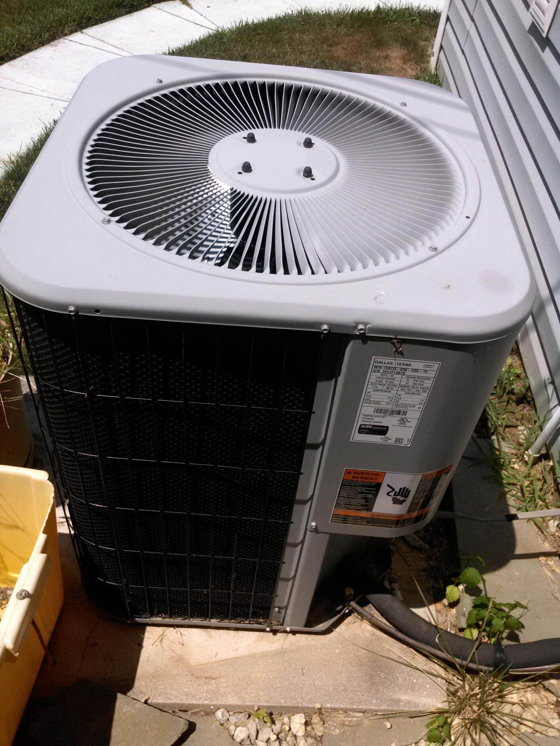 Gambrills, MD - Carrier gas furnace heating & ac air conditioning system replacement installation service call Gambrills Maryland 21054