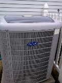 Gambrills, MD - Carrier heating & air conditioning system replacement installation service call Gambrills Maryland 21054