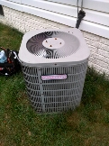 Gambrills, MD - Goodman heating & air conditioning system replacement installation service call Gambrills Maryland 21054