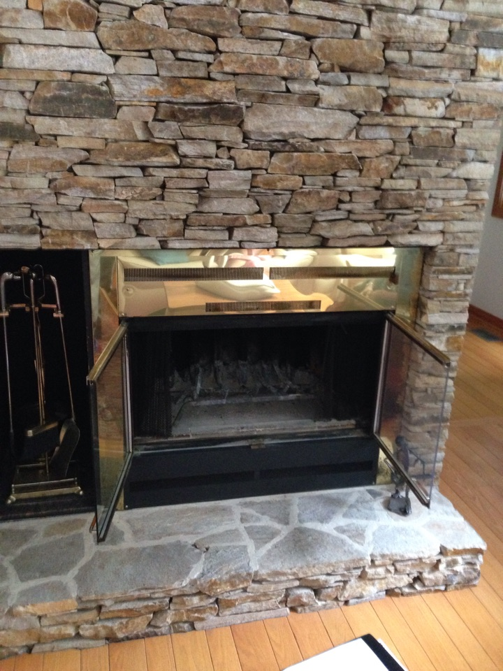 Fireplace Design gas insert fireplace installation : AC, Heat Pump, & Air Conditioner repair service in Harwood MD
