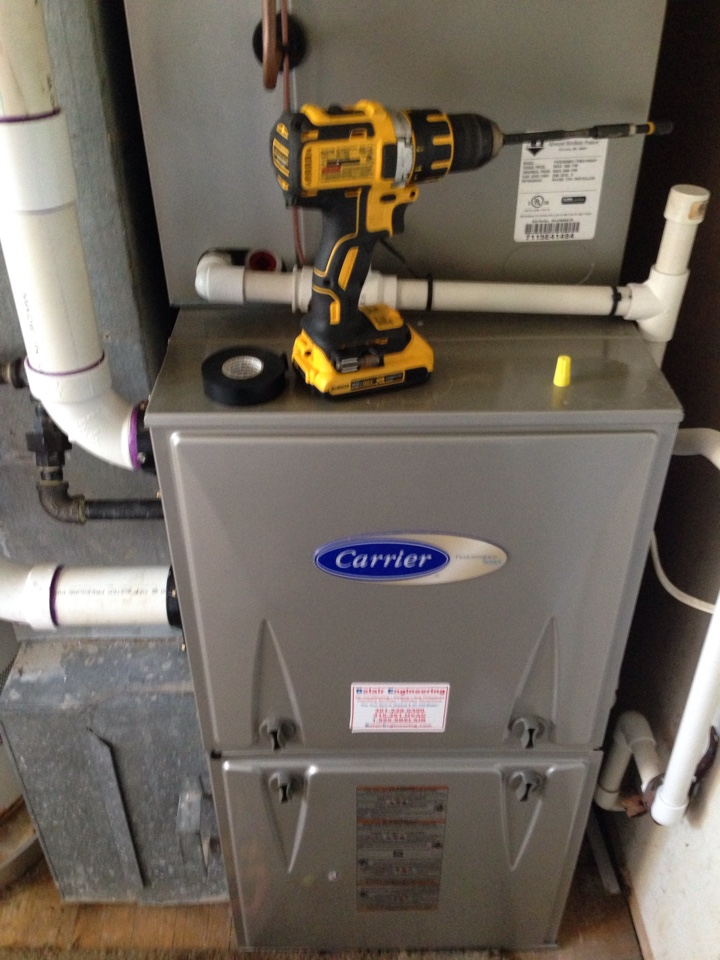 Gambrills, MD - Carrier gas furnace heating & ac air conditioning system replacement installation repair service call Gambrills Maryland 21054