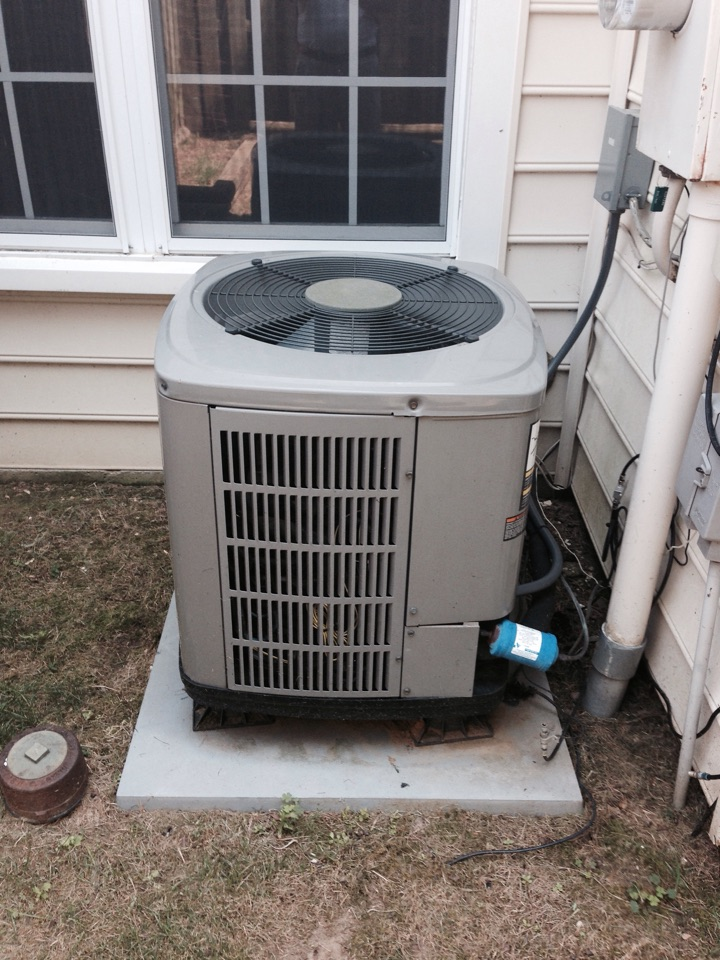 Gambrills, MD - goodman heat pump heating & air conditioning system replacement installation service call gambrills maryland 21054