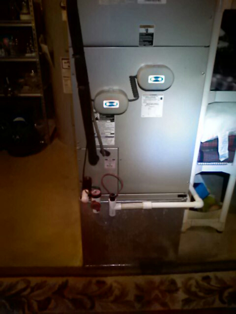 Crofton, MD - Replace UV lights & added an easy trap for a heat pump system in Crofton Maryland